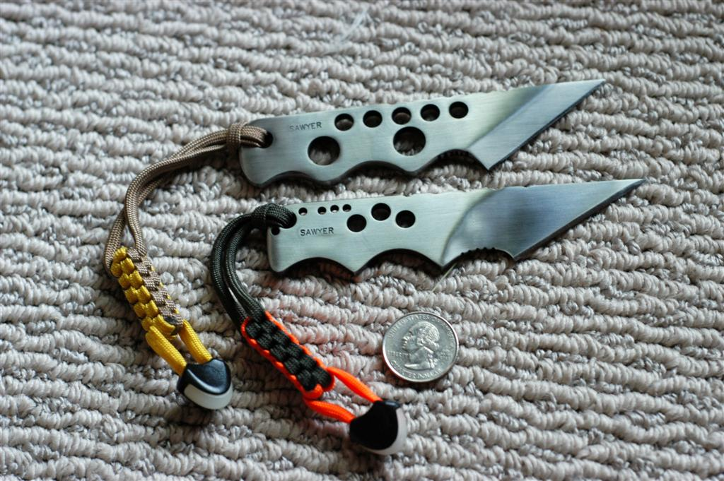 Help choosing a small knife for Knife lanyard ideas